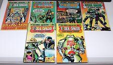 Judge Dredd's The Early Cases #1-6 (1,2,3,4,5,6) Eagle Comics ~VF/NM (HX173)