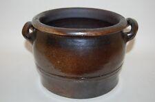 Topf  17/13 cm Keramiktopf Irdenware Irdener Topf braun Keramik