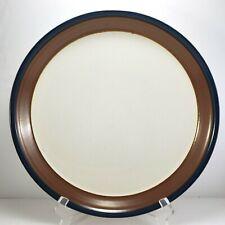 "Mikasa Fire Song Chop Plate 12.5"" Round Platter Stoneware Potters Art PF003"