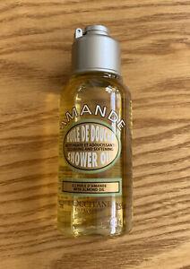 L'Occitane ALMOND Shower Oil Body Wash Cleanser 75ml