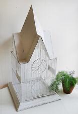 Vintage Shabby Metal Gothic Bird Cage Garden Plant Display Decor