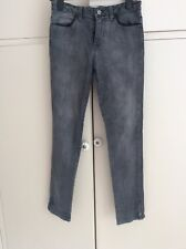 Reiss Ladies Jeans 1971 Grey High Waisted Farrah Size 8