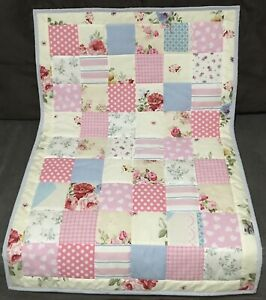 handmade patchwork baby quilt Handmade By Mum&me Vintage Style