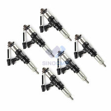6PCS Diesel Fuel Injector 095000-5450 for MITSUBISHI 6M60 Fuso ME302143