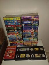 35 x Disney VHS Bundle - Video-Tapes, Classics, Vintage, Retro - All Listed