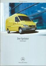 Truck Brochure - Mercedes-Benz Sprinter Van GERMAN lang Prospekt - c2004 (T2250)