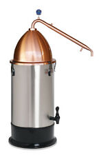 PRO KIT COPPER ALEMBIC POT with CONDENSER T500 BOILER Still Spirits set how to
