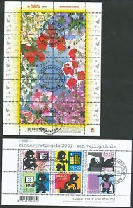NETHERLANDS 4 USED MODERN BOOKLETS & MINISHEETS BIN PRICE GB£8.00