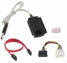 USB 2.0 to IDE SATA 5.25 S-ATA/3.5/2.5 Adapter Cable UK seller