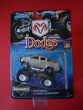 Muscle Machines Dodge Ram Stampeders Silver Hi-Rev Motor 1.64 MOC 2000 motorized
