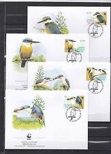 Norfolk Island 2004 - FDC - Vogels/Birds/Vögel  WWF/WNF