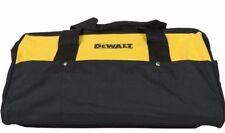 New Dewalt Extra Large 20 Inch Heavy Duty Deep Wide Mouth Tool Bag W/14 Pockets