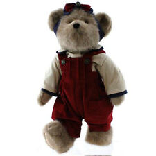 "NWT Boyds Bear Plush JENNIE Glorybear PatrioticTeddy 14"" Brown Retired"