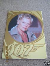 James Bond 50th Anniversary Series 2 #182 Judi Dench as M - Casino Royale     ZJ