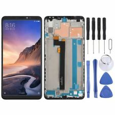 For Xiaomi Mi Max 3 Display Full LCD Touch Screen Frame Repair Black Replacement