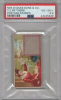 1889 N85 W.Duke Sons & Co. Postage Stamps I'll Be There! Graded PSA 4.5