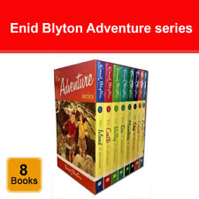 Enid Blyton Adventure series 8 books box set collection Childrens Pack NEW