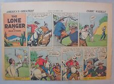 Lone Ranger Sunday Page by Fran Striker and Charles Flanders from 10/6/1940