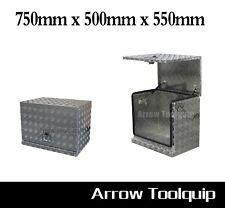 750x500x550mm Aluminium Toolbox Generator Tool Box Caravan Ute Toolbox