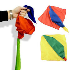 COLOUR CHANGING SILK SCALF HANKY STAGE KIDS MAGIC TRICK PROP EASY TO APPLY
