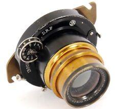 LOUICLAR-vestíbulo 180mm 13x18-E.M. París Doble ANASTIGMAT F6.2 IBSOR D.R.P del obturador