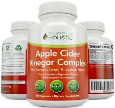 Apple Cider Vinegar Capsules 180 Vegan ACV Capsules High Strength