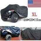 Black XL Waterproof ATV Cover For FUZION MOTORS ATV 125 250 400 500 700 800