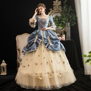 18th Century High-end Court Rococo Baroque Marie Antoinette Ball Luxury Dresses