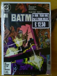 BATMAN # 406 (YEAR ONE PART 3 NM
