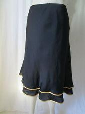 Knee Length Silk Regular Flippy, Full Skirts for Women