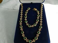 Jacqueline Kennedy First Lady Necklace and Bracelet by Camrose and Kross