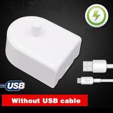 Portátil USB cargador de Cepillo de Dientes Eléctrico Repuesto para Braun  Oral-B D17 OC18 f37fd012bfb8