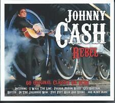 Johnny Cash - Rebel - 60 Original Classics (3CD 2015) NEW/SEALED