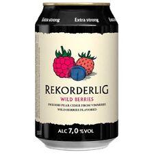 Rekorderlig Wild Berries / Wildbeeren Premium Cider 7% vol 24 x 33cl Tray STRONG