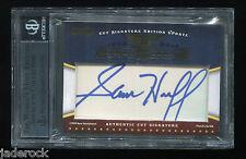 Sam Huff Larry Wilson 2009 Razor Cut Signature Autograph Sports Icons #1/1 BGS