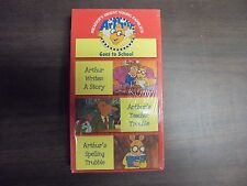 """NEW SEALED VHS MOVIES """"Reader's Digest """"Arthur Goes To School""""   (G)"""
