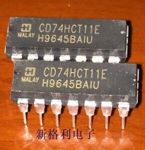 5PCS CD74HCT11E High-Speed CMOS Logic Triple 3-Input AND Gate DIP14