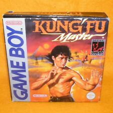 VINTAGE 1991 NINTENDO GAME BOY KUNG FU MASTER CARTRIDGE VIDEO GAME PAL BOXED