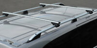 Cross Bars For Roof Rails To Fit Ford Transit Custom (2012+) 100KG Lockable