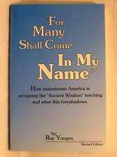 For Many Shall Come in My Name, Yungen, Very Good Book