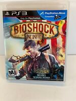 BioShock Infinite (Sony PlayStation 3, 2013) With Manual