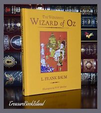 Wonderful Wizard of Oz by L.F. Baum Unabridged New Illustrated Deluxe Hardcover