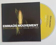 """JEAN-LOUIS AUBERT : REMIX POUR EMMAÜS DE """"VEILLE SUR MOI"""" - CD SINGLE PROMO"""