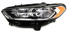OEM Ford Fusion Left Driver Side Headlamp DS7Z13008B - 1 Tab Missing & 1 Chipped