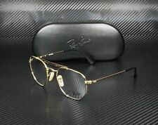 RAY BAN RX3648V 2946 Top Black On Gold Demo Lens 51 mm Unisex Eyeglasses