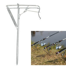 Smart Stainless Steel Fishing Rod Holder Automatic Tip-Up Hook Setter Spring