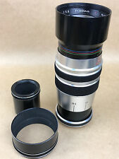 Kilfitt 300mm F5.6 Tele-Kilar Leica M39 Screw Mount w/ Kizex Exakta Adapter-Rare