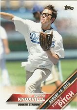 2016 Topps First Pitch Johnny Knoxville