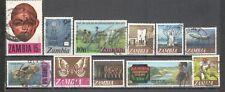 S6677 - ZAMBIA 1973 - LOTTO TEMATICI DIFFERENTI DEL PERIODO - VEDI FOTO