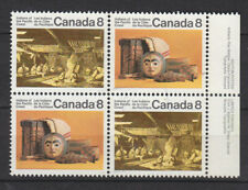 Canada 1972 Canadian Indians block of four fine used